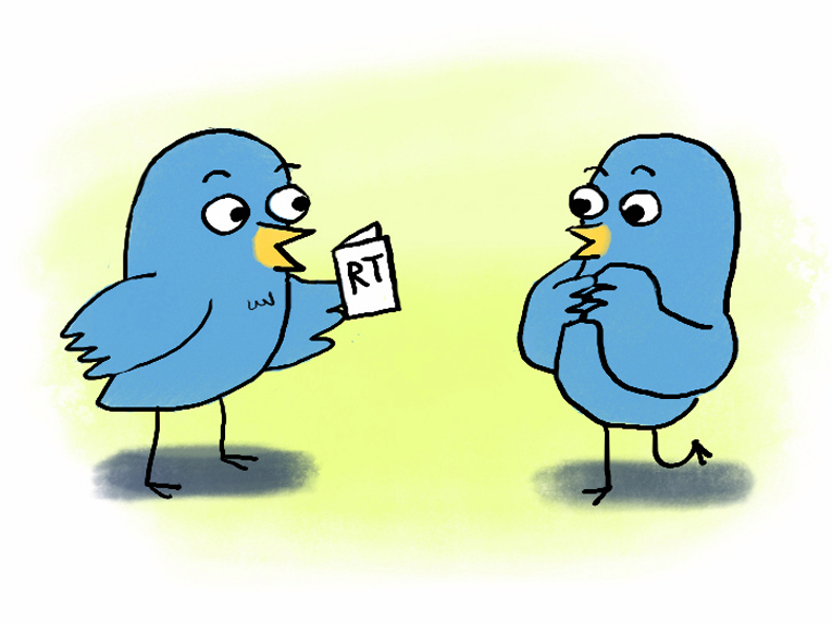Twitter RT Cards